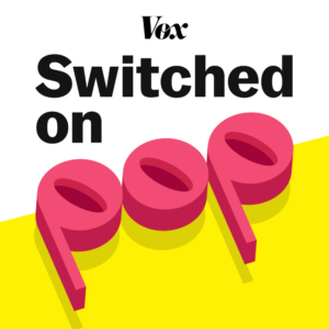 Switched on pop podcast logo