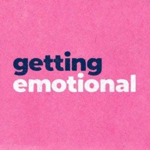 Getting emotional podcast logo