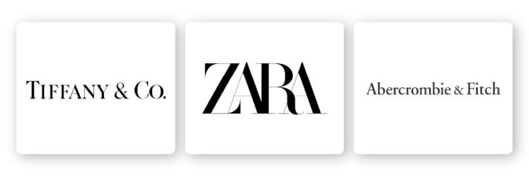 logos with serif fonts